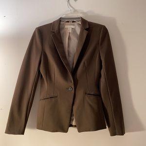 H&M green blazer size 4